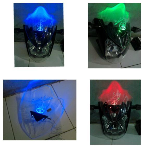 New LED Visor Vixion