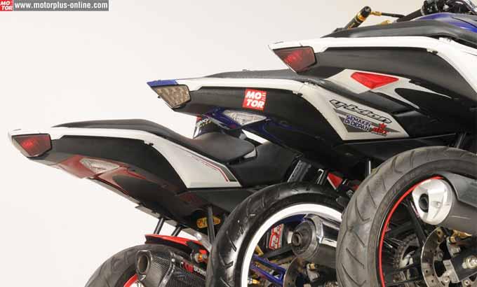 Undertail Yamaha New Vixion dan Old Vixion