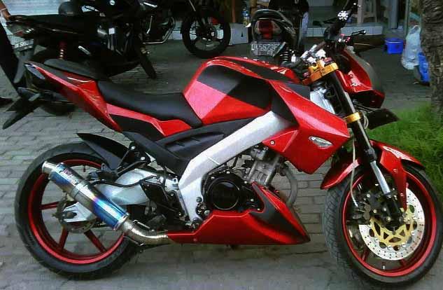 Top modifikasi motor vixion 2008