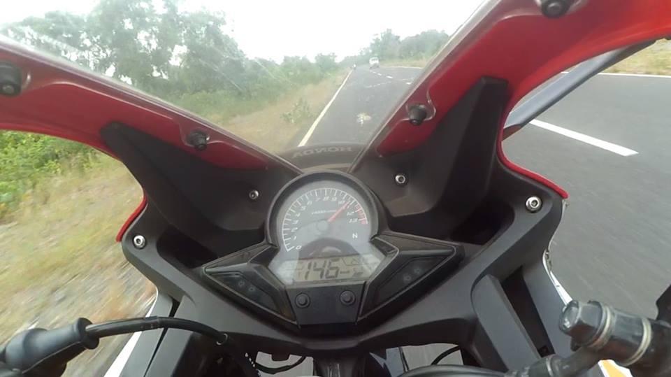 Top Speed Honda Cbr 150