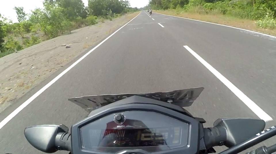 Top Speed yamaha xabre 150cc