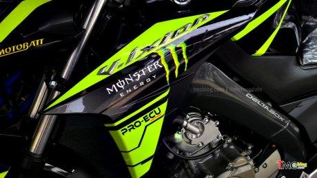 Modif Vixion livery VR46 Special edition
