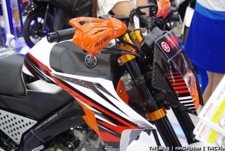 Modifikasi Vixion Jari jari lebar KTM
