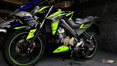 Vixion livery VR46 Special edition